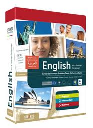 Cover der Englisch-Ausgabe der Software